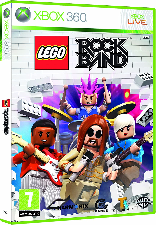 Lego Rock Band - Game Only (Xbox 360) [Importación inglesa ...
