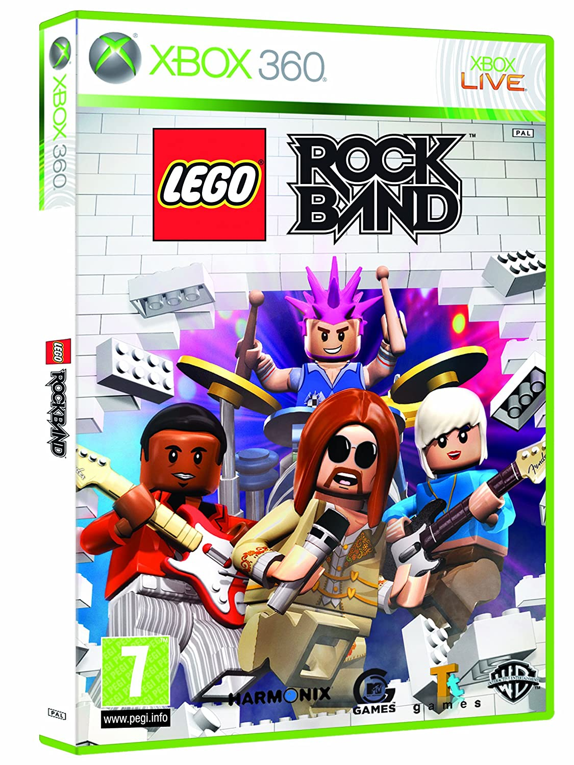 Lego Rock Band Game Only Xbox 360 Amazoncouk Pc Video Games