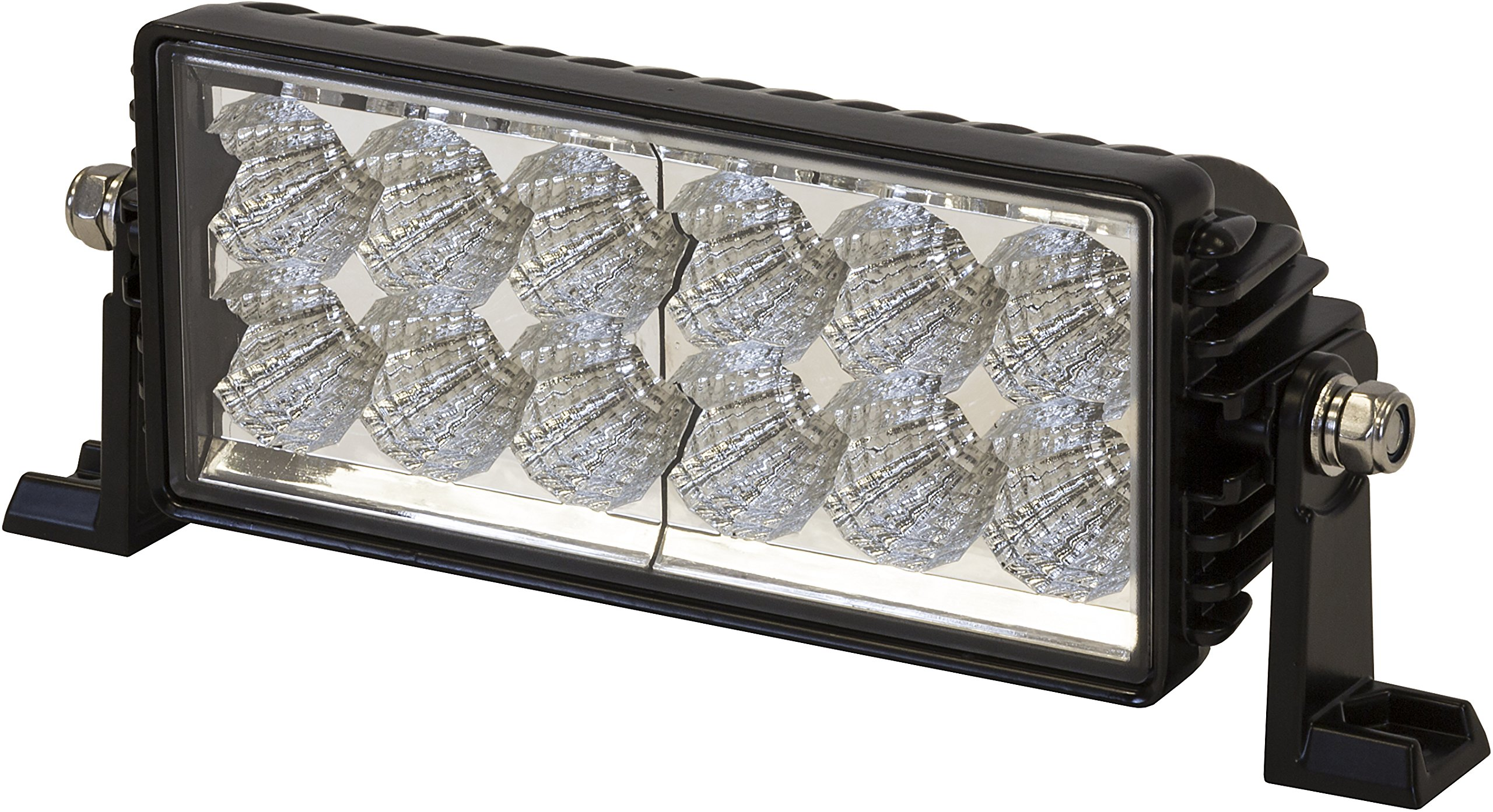 Buyers Products (1492140) Clear 10.1'' x 3.8'' 12V-24V DC 12 LED Work Light