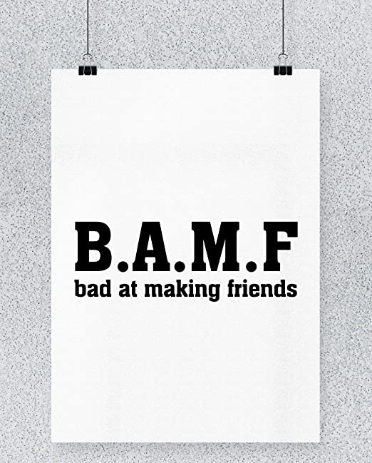 Compra Hippowarehouse B.A.M.F Bad at Making Friends Cartel ...