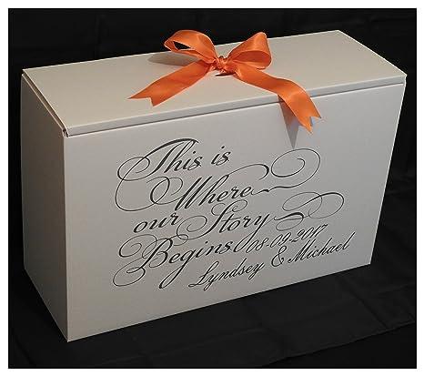 Amazon caja vestido de novia