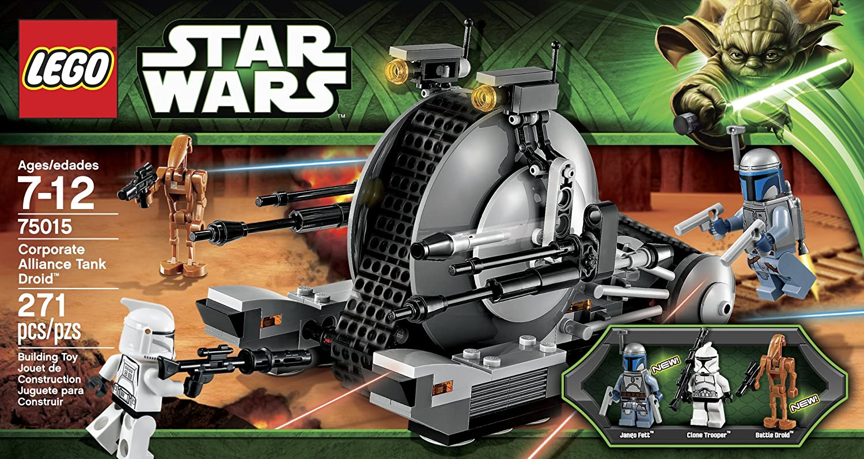 Amazon Lego Star Wars Corporate Alliance Tank Droid