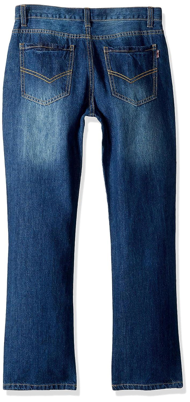 24a2ffb405 Clothing Leo&Lily Boys Kids Husky Waist Cotton Denim Regular Fit Jeans Pants  LLB601-8-Light Blue-$P
