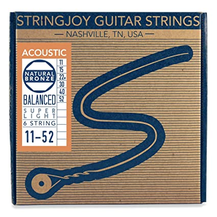stringjoy nb1050 hecho a mano natural bronce Guitarra acústica ...