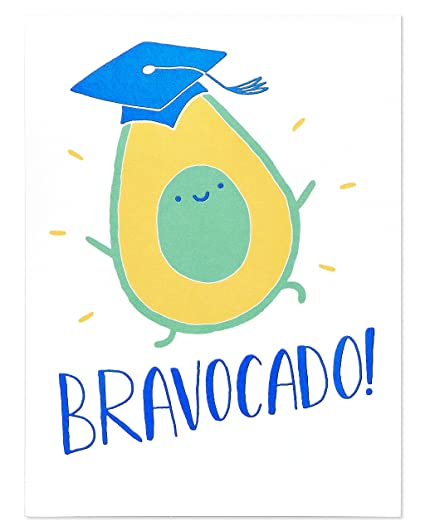 Amazon american greetings bravocado graduation card office american greetings bravocado graduation card m4hsunfo