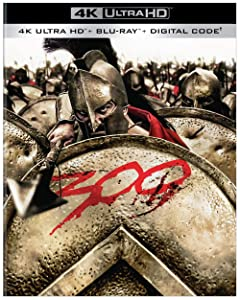 Zack Snyder's 300 arrives on 4K Ultra HD Blu-ray Combo Pack Oct. 6 from Warner Bros.