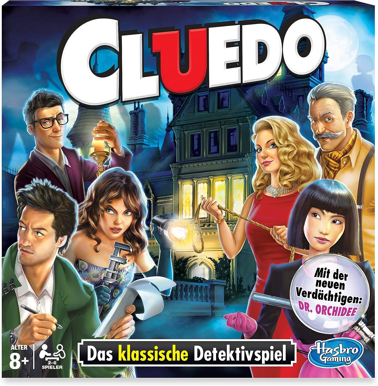 Cluedo Adventures, el clásico Entre los Juegos Detectives.: Amazon.es: Juguetes y juegos