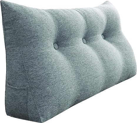 Round Sofa Chair Throw Waist Cushion Bolster Backrest Neck Pillow Bed Sleep Read