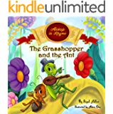 The Grasshopper and the Ant : Aesop's Fables in  Verses  (Children's story picture books Book 3)