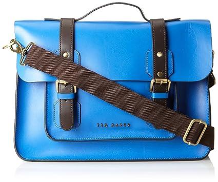 7435613c3ae6 Amazon.com  Ted Baker Men s Skolday Leather Satchel Bag