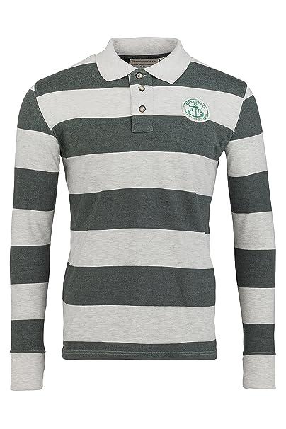 Adenauer & Co Camisa Polo de Manga Larga Rugby Polo: Amazon.es ...