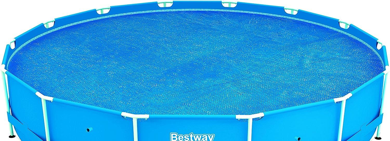 Bestway Steel Frame Solar Pool Cover Blue 58172