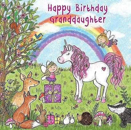 Tarjeta de felicitación de cumpleaños para nietas Twizler ...