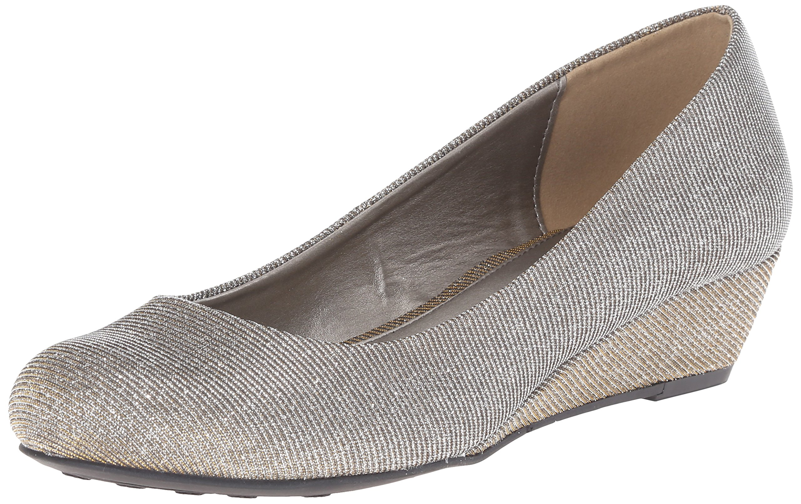 CL by Chinese Laundry Women's Marcie Wedge Pump, Champagne Twilight, 6.5 M US