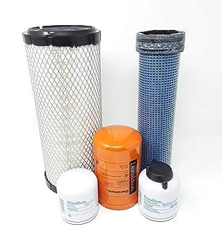 Amazon com: Bobcat Filter Kit 863 863G 864 873 873G 883 Oil