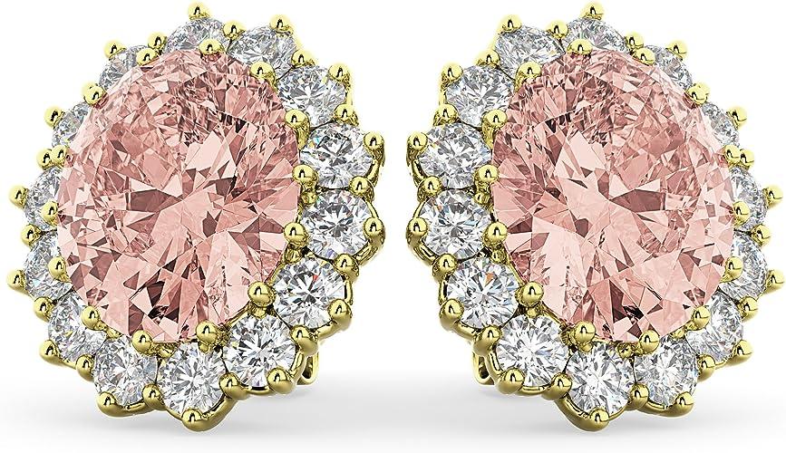 Jalash 14K Yellow Gold Finish CZ Diamonds Square Pinky Statement Ring for Mens
