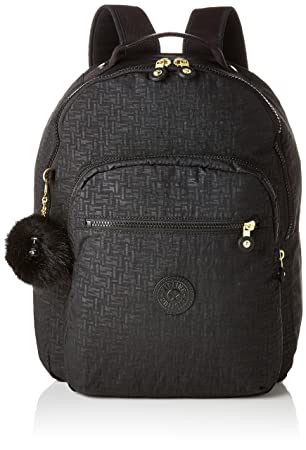 Kipling SEOUL BABY BACKPACK Mochila tipo casual, 44 cm, 26 litros, Negro (Black Pylon Emb): Amazon.es: Equipaje