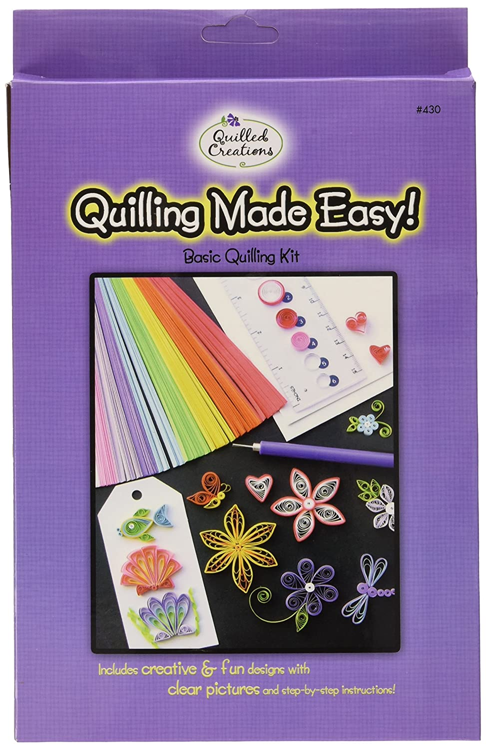 Quilled Creations Q430 Quilling Strips Kit