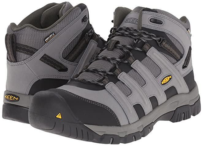 Amazon.com | Keen Utility Men's Omaha Mid Waterproof Soft ToeWork Boot |  Industrial & Construction Boots