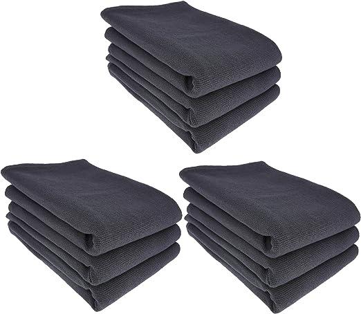 9 x – Trapo/Paño de cocina y gamuza de limpieza 100% algodón ...