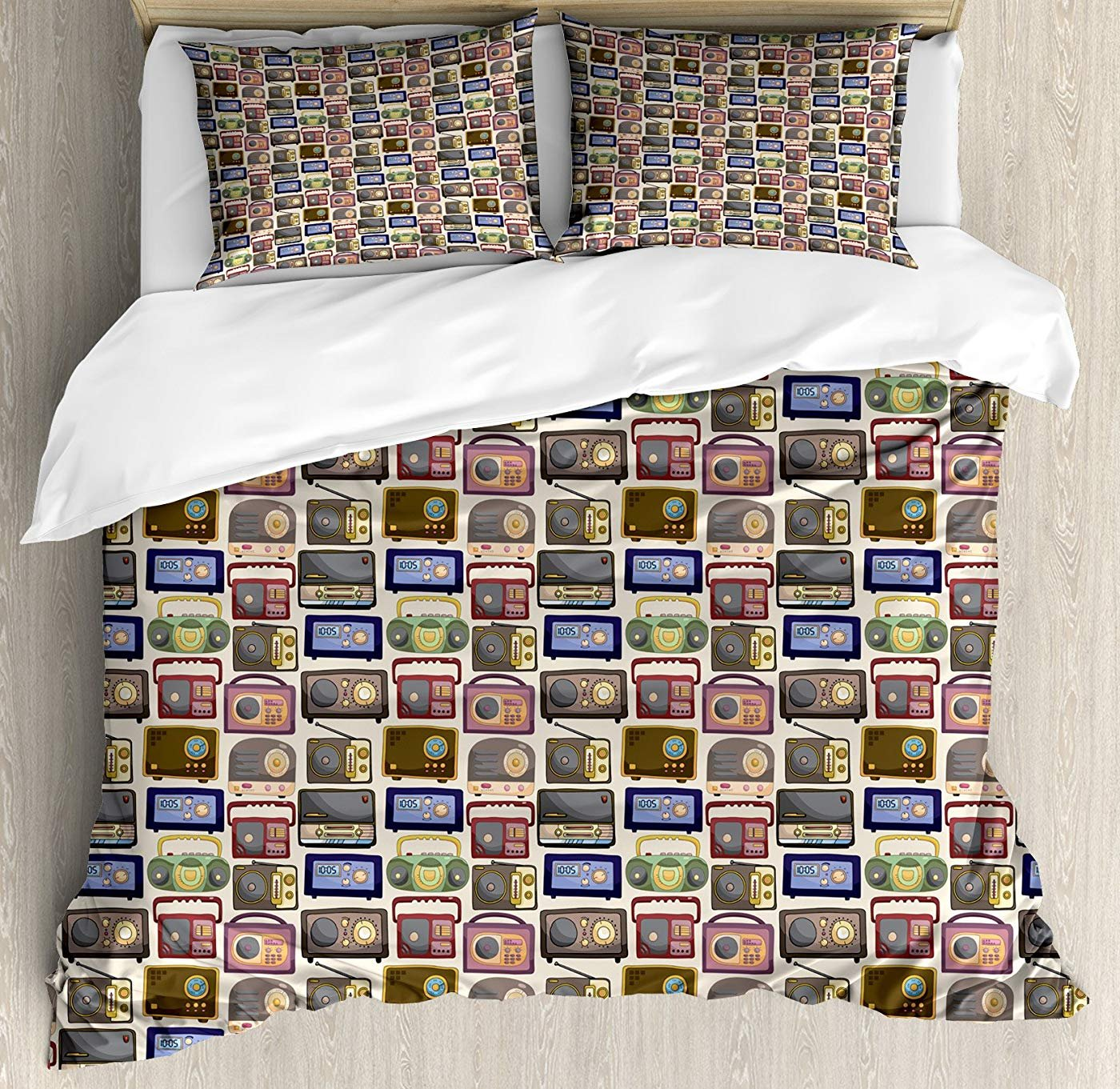 Multi 2 Twin Zodiac Scorpio Twin Size Duvet Cover Set, Illustration of a Scorpio Sign as a Young Woman in a bluee Dress,Lightweight Microfiber Duvet Cover Sets, Pink Turquoise Beige