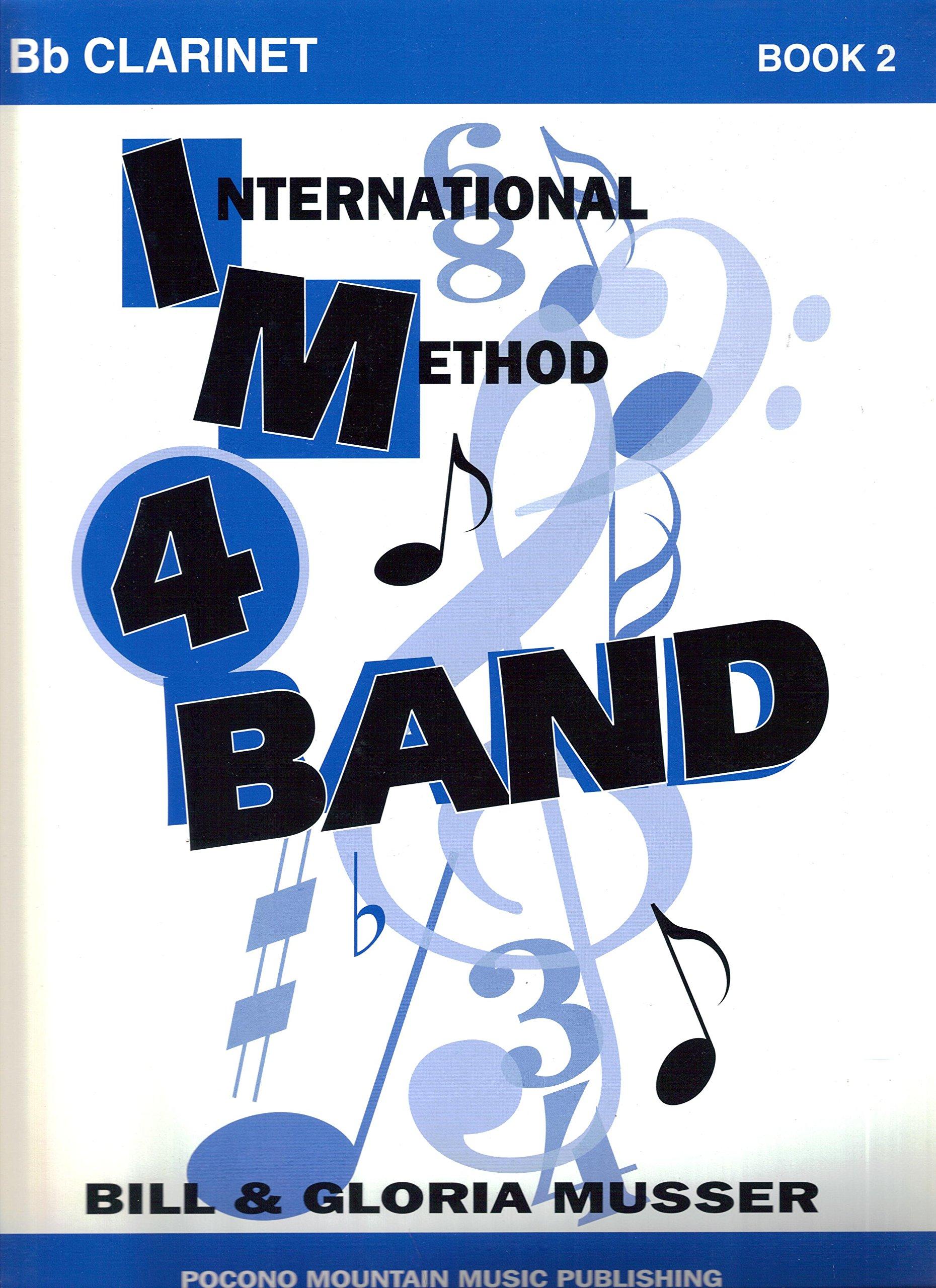 Download International Method 4 Band: Bb Clarinet, Book 2 pdf