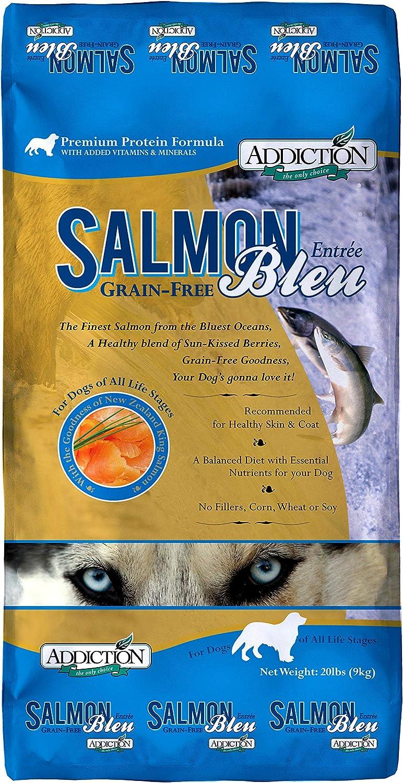 Addiction Grain Free Dry Dog Food Formulas Salmon