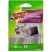 Scotch Brite Carré spécial optique, microfibre, gris 15cm x 10 cm