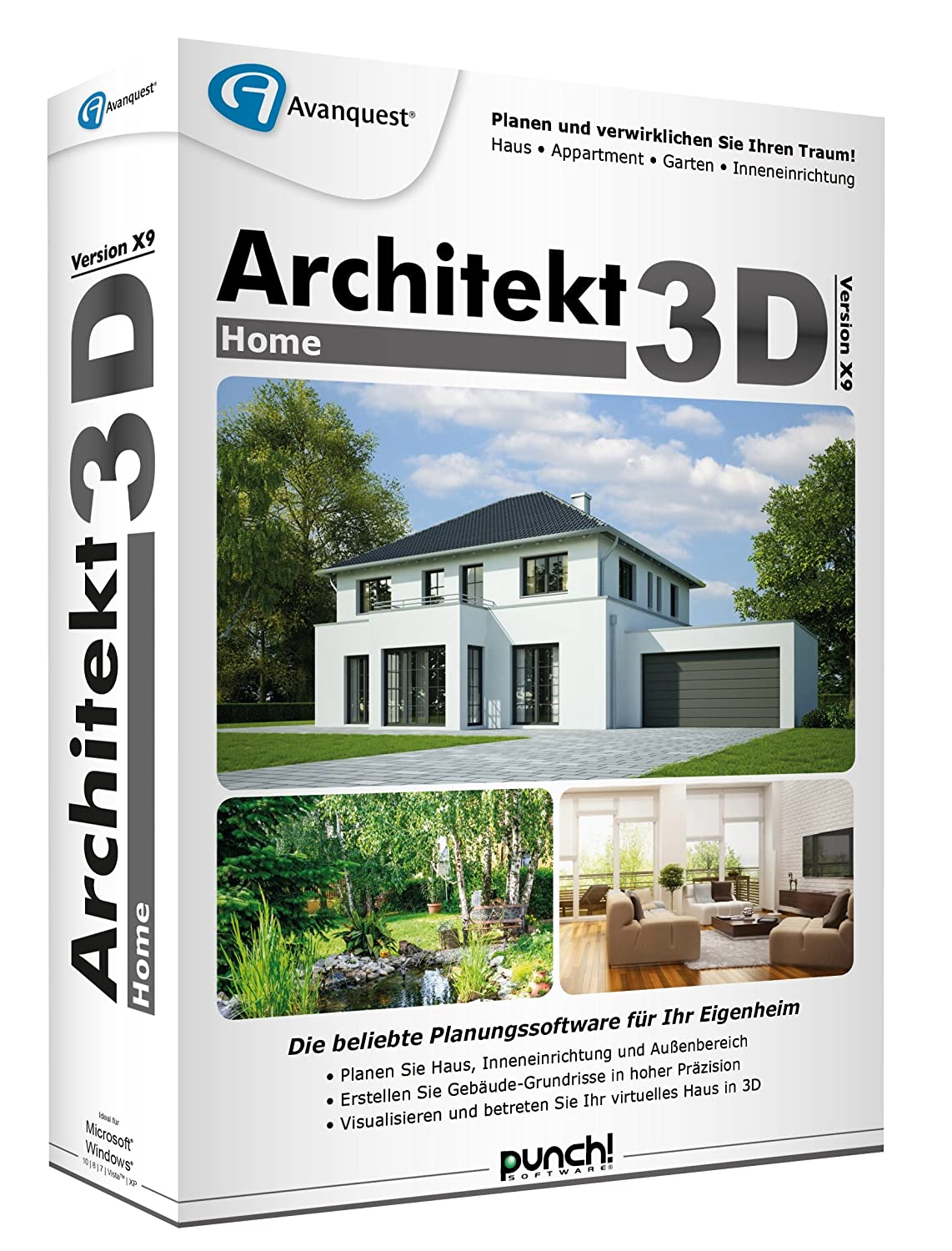 Architekt 3d X9 Home Amazonde Software