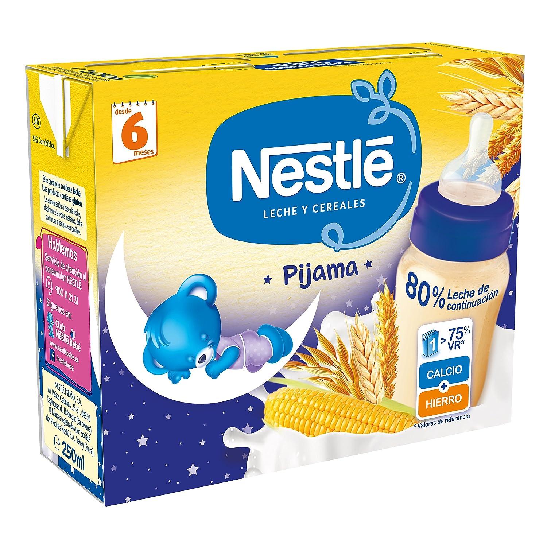 Nestlé - Leche y Cereales Pijama - Paquete de 2 x 250 ml - Total: 500 ml: Amazon.es: Alimentación y bebidas
