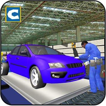 Amazon Com Luxury Auto Car Maker Factory Mechanic Workshop