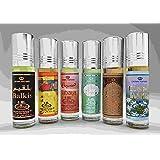 6 (Six) Al-Rehab 6ml Perfume Oils Best Sellers Set # 2: