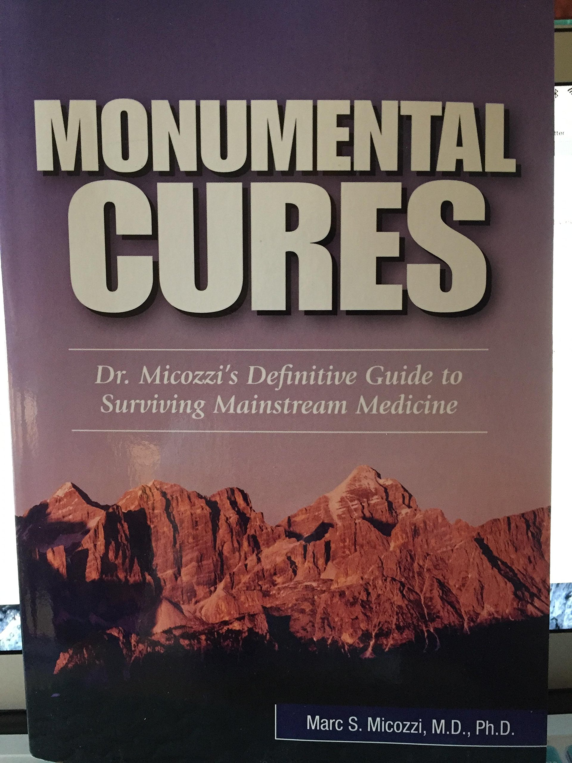 MONUMENTAL CURES ebook