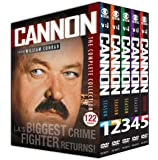 Cannon: The Complete Collection (122 Episodes Plus 2 TV Movies:& Pilot And Return Of Frank Cannon)