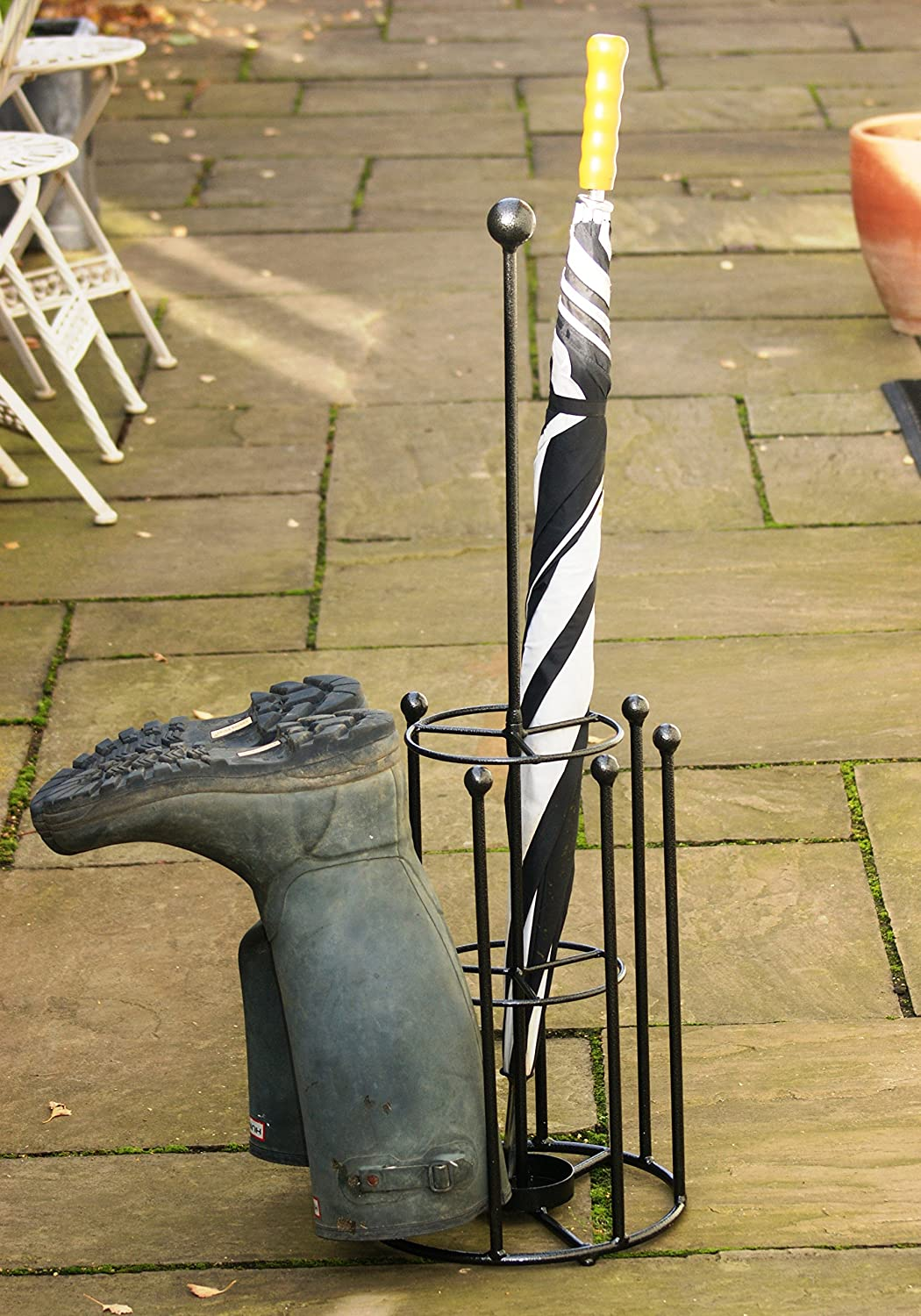 4 Pair boot and Umbrella stand Gap Garden Products Ltd