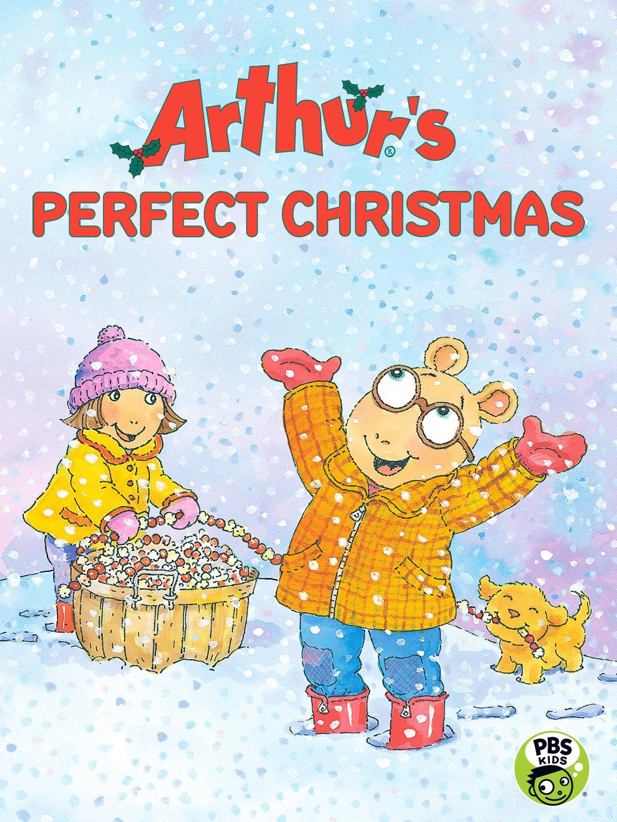 amazon com arthur u0027s perfect christmas cinar wgbh amazon digital