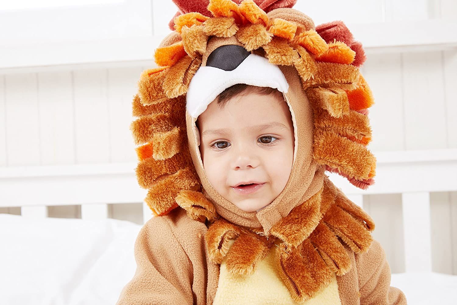 18-24 Months Spooktacular Creations Deluxe Baby Lion Costume Set