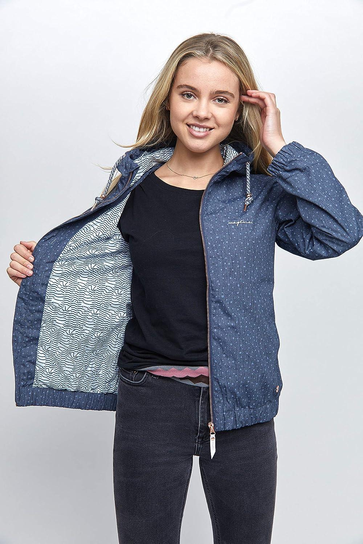 Mazine - Damen - Jacke Jacke Jacke 'Library Light Jacket' - Classic Streetwear Frühling Sommer B07NMGN21M Jacken Stilvoll und lustig 0c9a5c