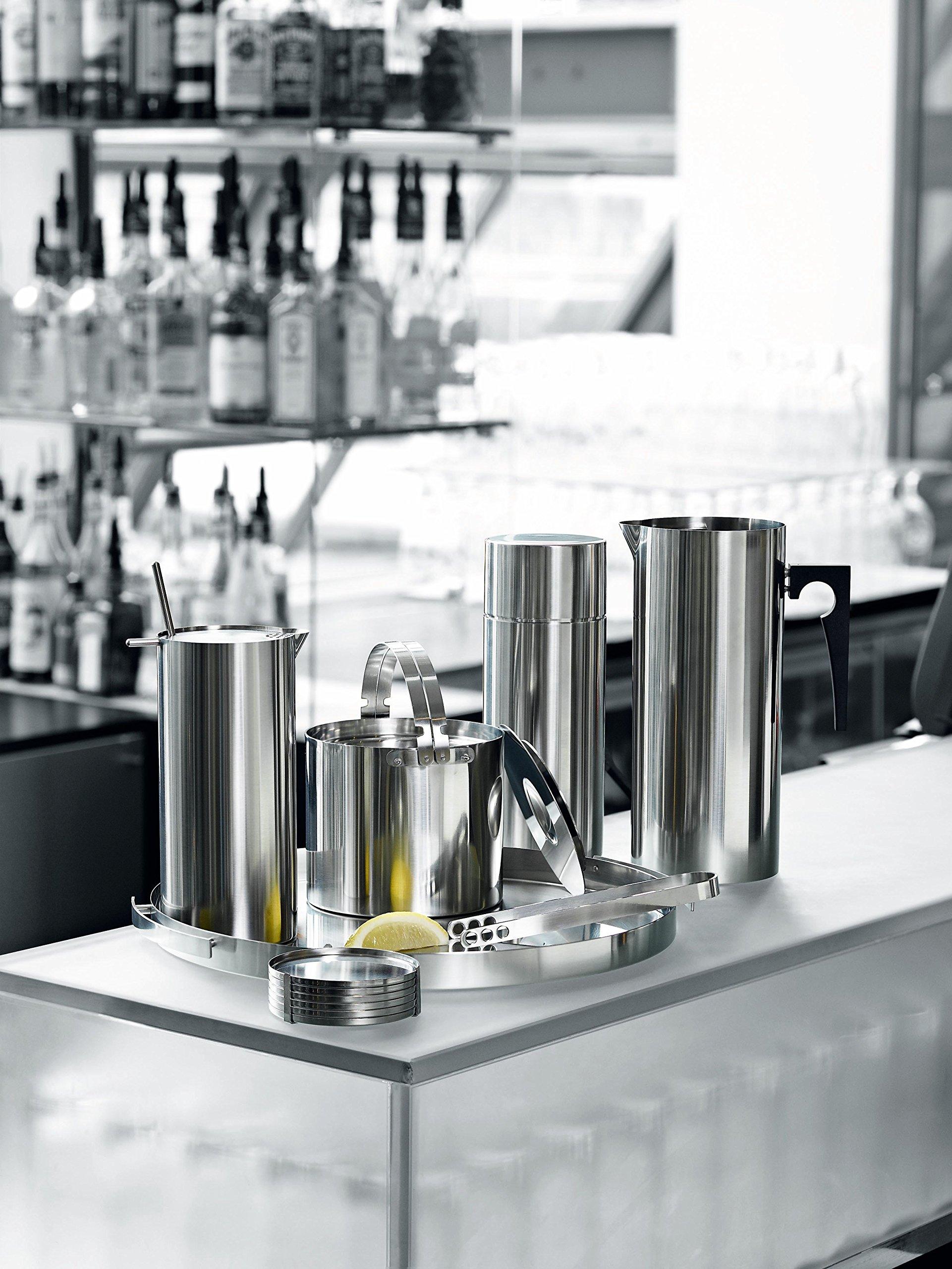 Stelton Arne Jacobsen Press Coffee Maker, 8 cups