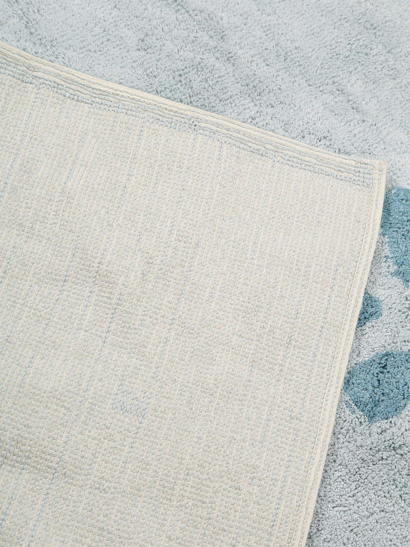 120 x 180 cm benuta Bambini Whale Childrens Rug Blue Cotton