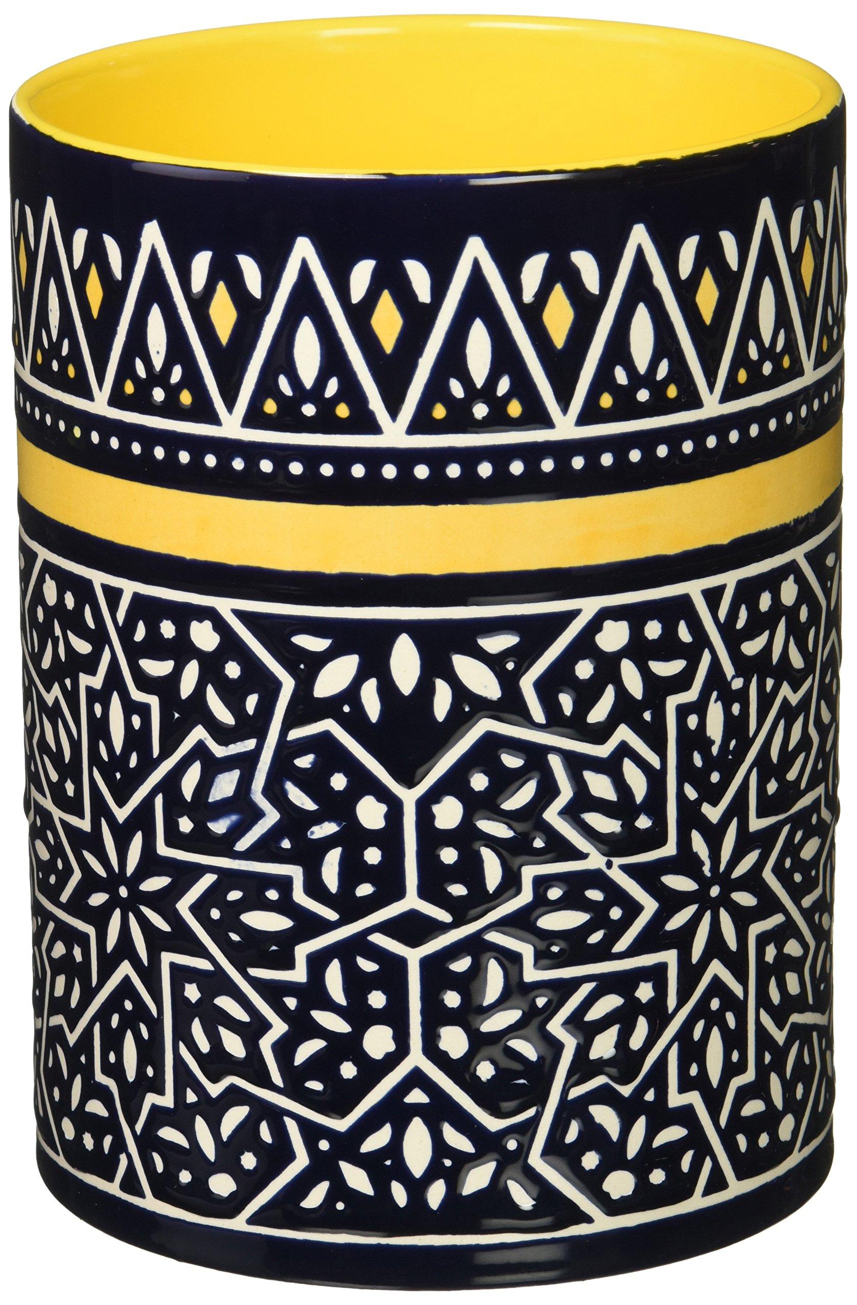 Now Designs Stoneware Utensil Crock, Medina Design by Now Designs