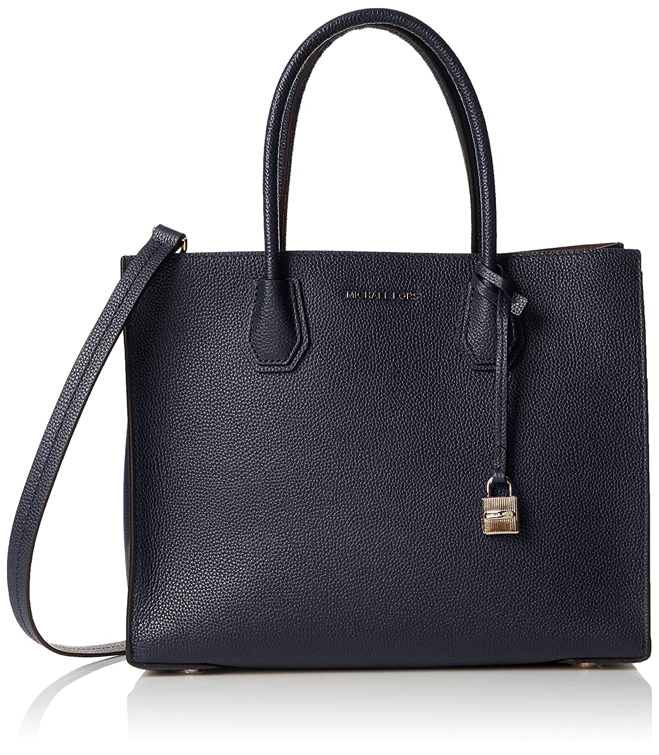 79afb1b2a48a ... Gallery MICHAEL Michael Kors Womens Mercer Tote, Admiral, One Size  Handbags Amazon.