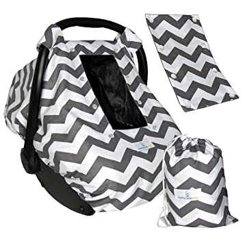 Amazon.com: Baby Car Seat Covers for and Boys, Infant Canopy ...