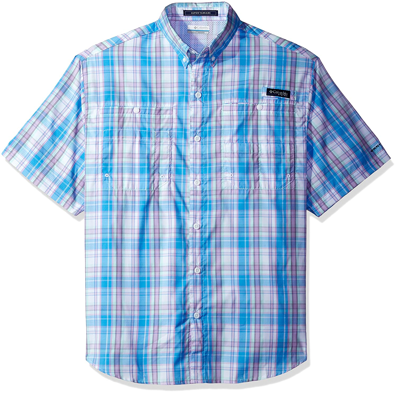 Columbia Mens Super Tamiami Short Sleeve Shirt