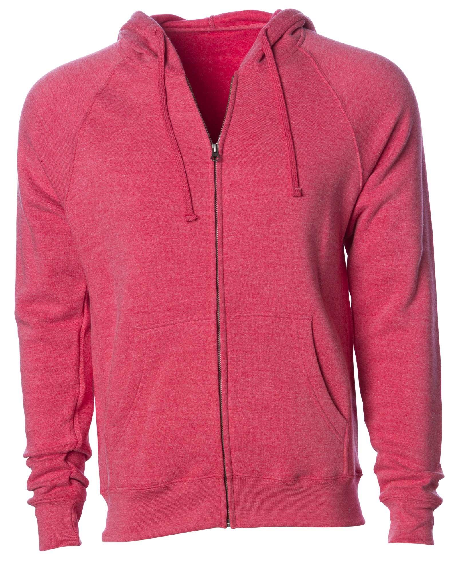 Global Lightweight Zip Up Hoodies for Women Extra Soft Fleece Hooded Sweatshirt Pink XXL