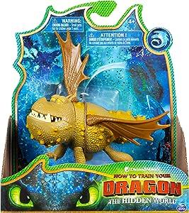 Amazon.com: Dreamworks Dragons, Meatlug Dragon Figure with ...