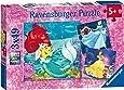 Ravensburger 9350 Disney Princess Princess Adventure Jigsaw Puzzles - 3 x 49 Pieces