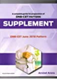 A Complete Guide For Preparation Of DNB-CET Pattern Supplement June 2018