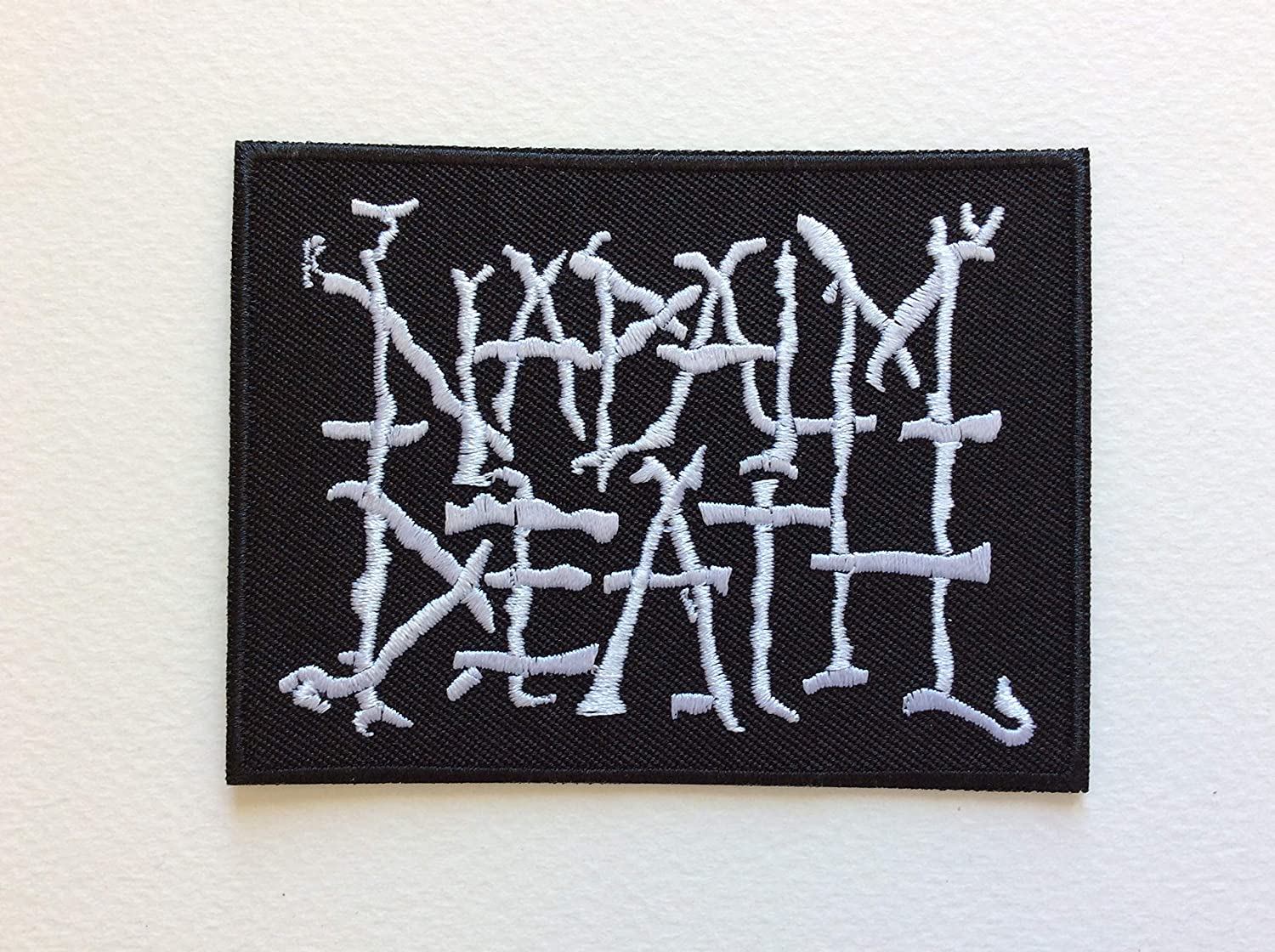 6,5 CM Napalm Death 9 BLUE HAWAI ECUSSON Patches AUFNAHER Toppa THERMOCOLLANT