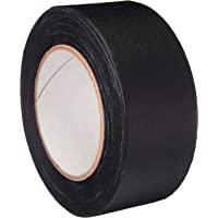 AmazonBasics No Residue, Non-Reflective Gaffers Tape - 2 Inch x 90 Feet, Black